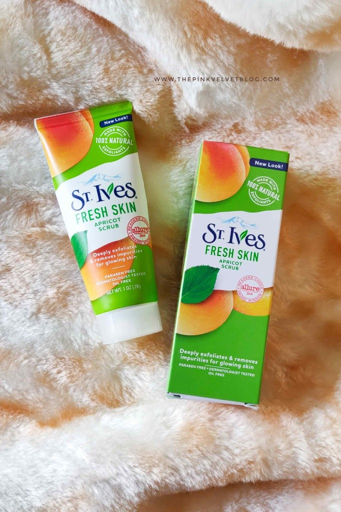 St.Ives Fresh Skin Apricot Face Scrub – Review
