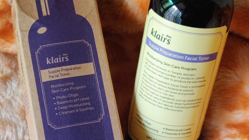 Klairs Supple Preparation Facial Toner – Review