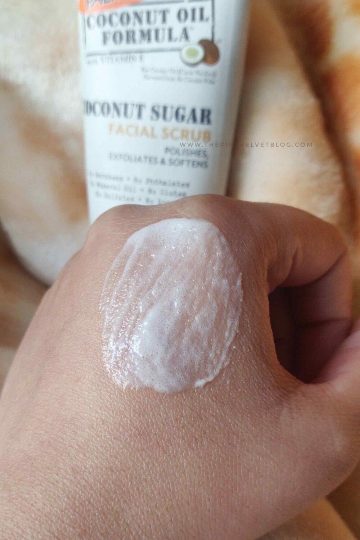 Palmer's Coconut Sugar Facial Scrub Review