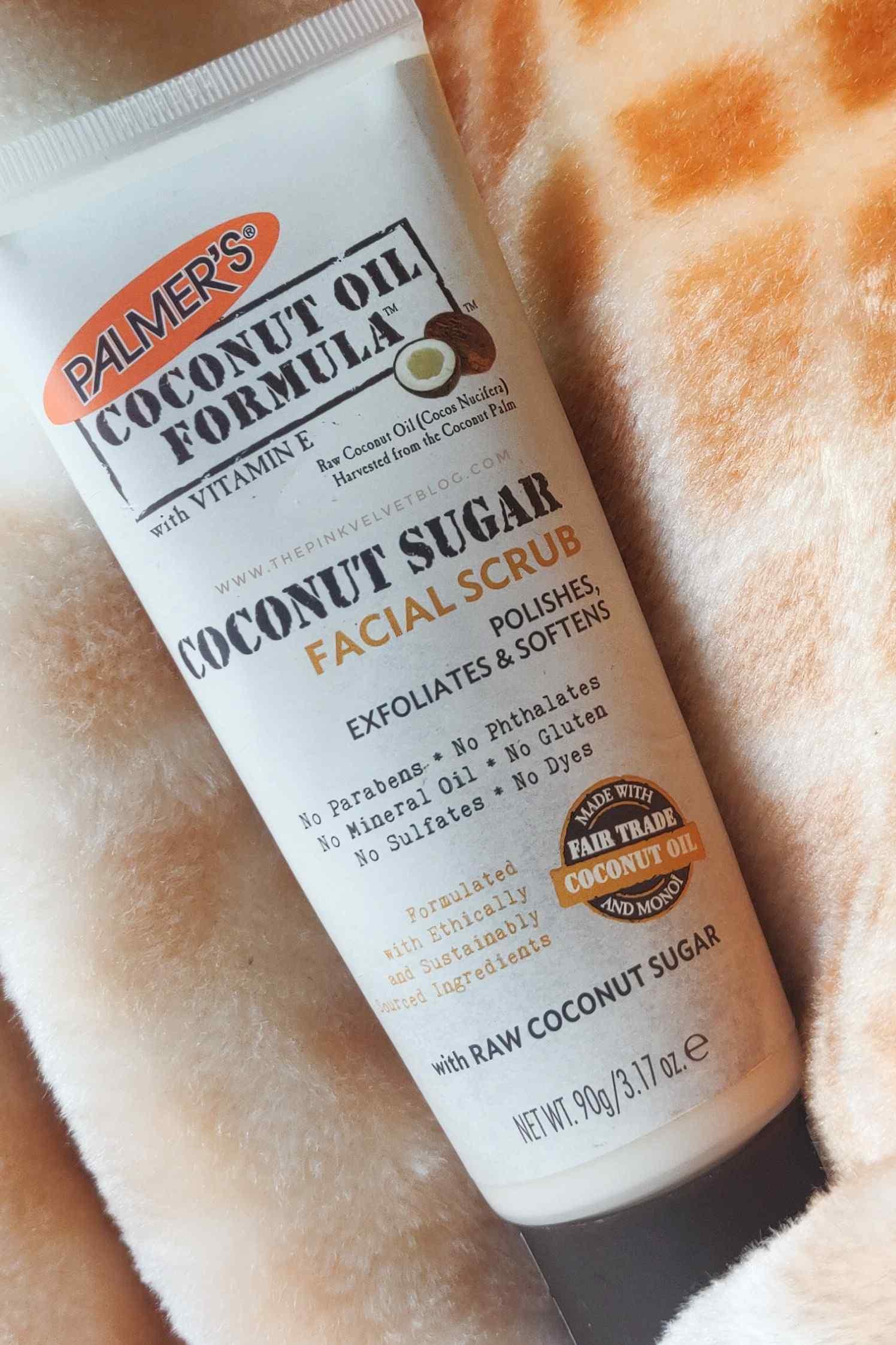 Palmer's Coconut Sugar Facial Scrub – Review
