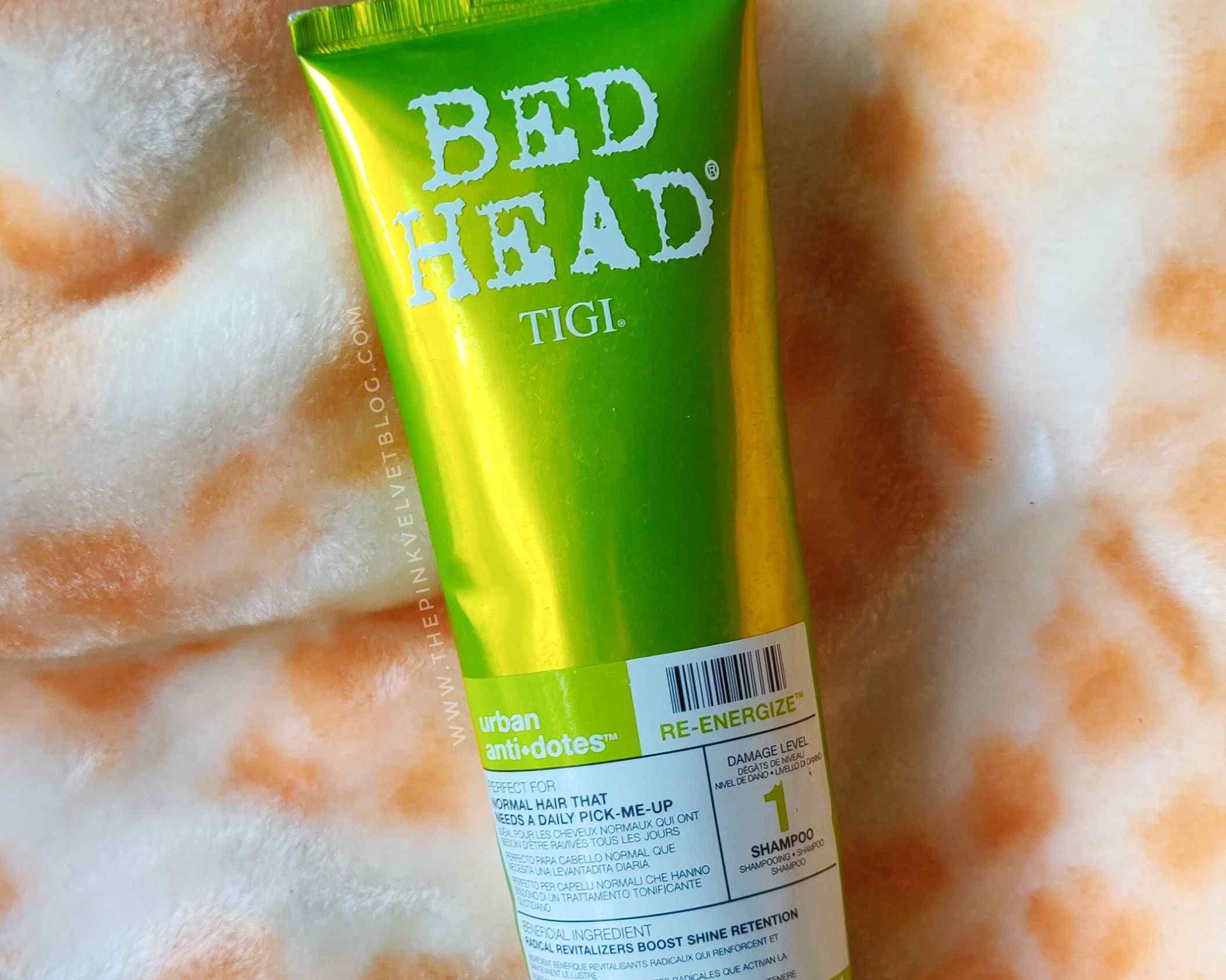 TIGI Bed Head Re-Energize Shampoo – Review