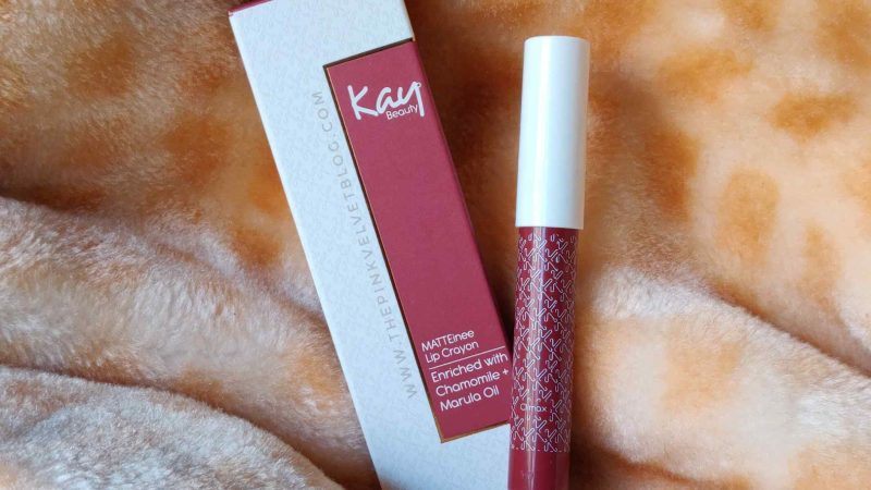 Kay Beauty Lip Crayon Climax – Review and Swatches