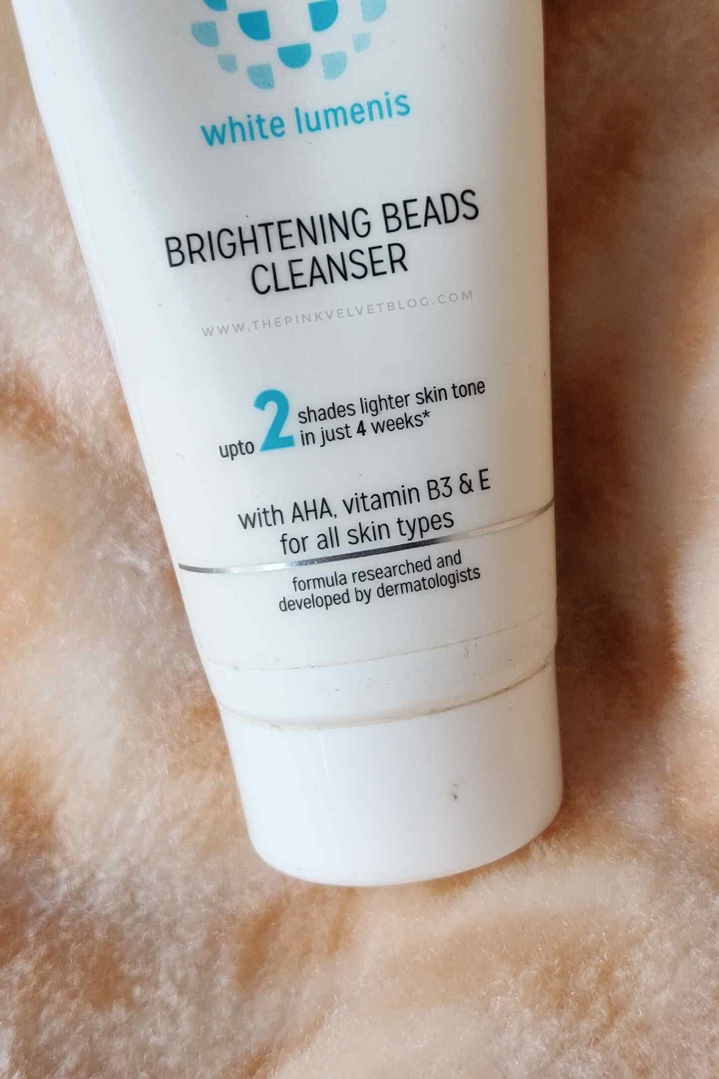 Kaya Brightening Beads Face Wash Review