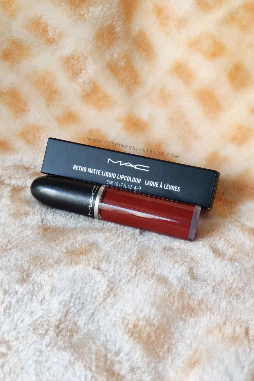 MAC Retro Matte Liquid Lipstick Carnivorous – Review and Swatches