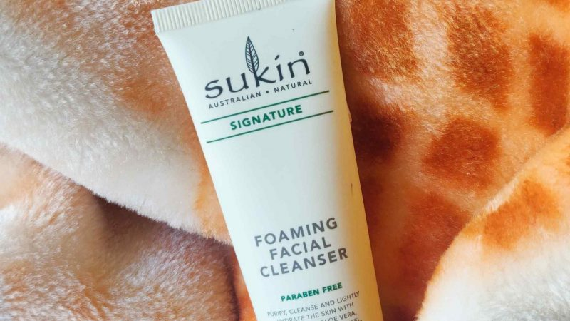 Sukin Foaming Facial Cleanser Review