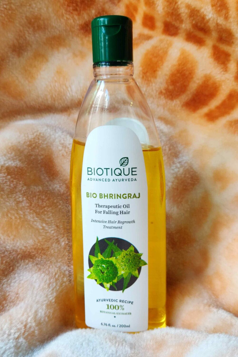 Biotique Bhringraj Therapeutic Oil for Falling Hair Review