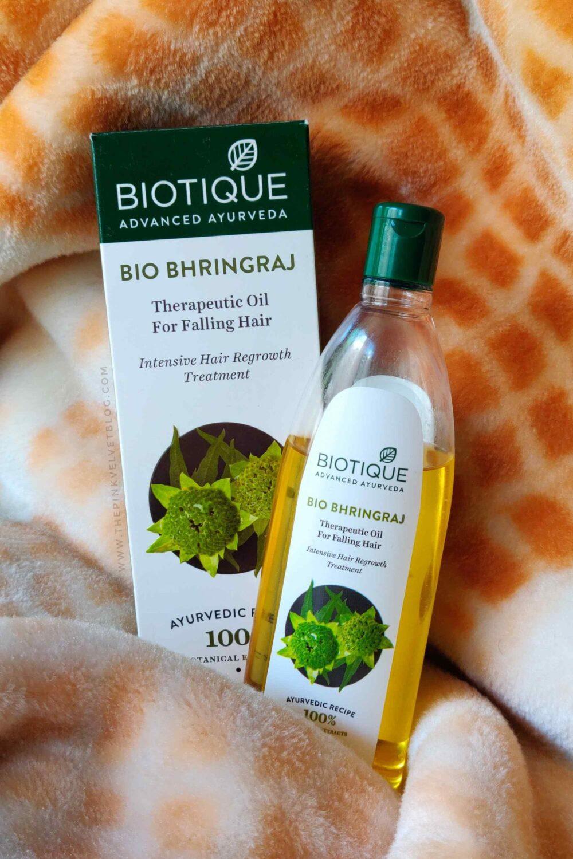 Biotique Bio Bhringraj Therapeutic Oil for Falling Hair Review