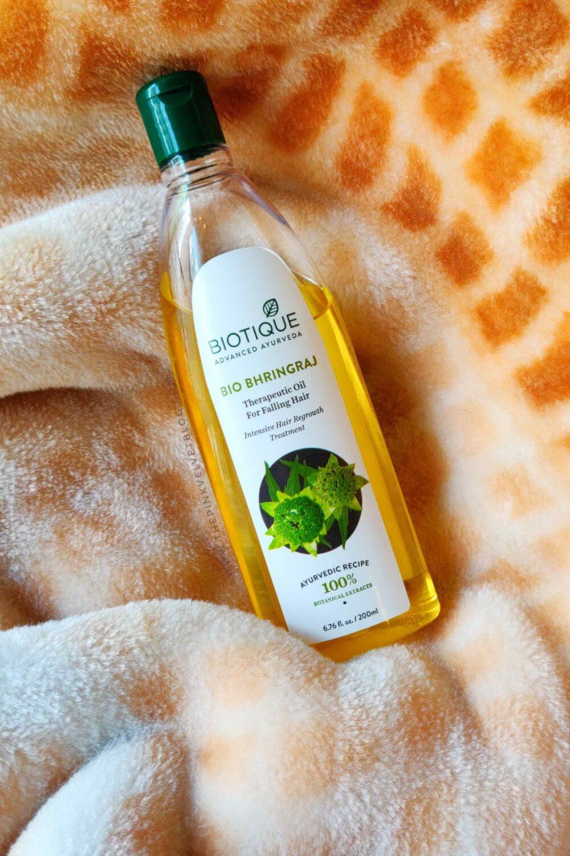 Biotique Bio Bhringraj Therapeutic Oil for Falling Hair ...