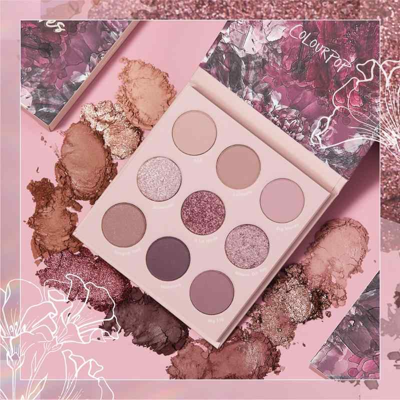 ColourPop Cosmetics Best Selling Eyeshadow Palettes - Making Mauves