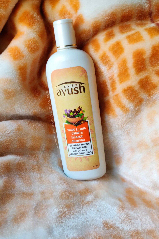 Lever Ayush Thick and Long Growth Shikakai Shampoo Review