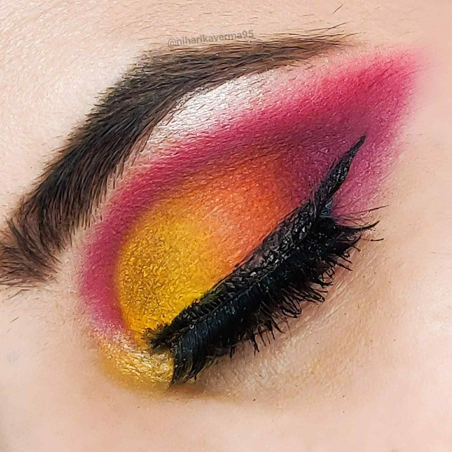 Makeup Revolution Soph X Extra Spice Eyeshadow Palette - Eyeshadow Look