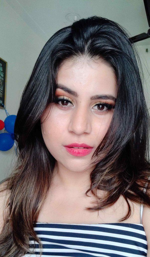 Makeup Revolution Soph X Extra Spice Eyeshadow Palette - Makeup Look - Niharika Verma