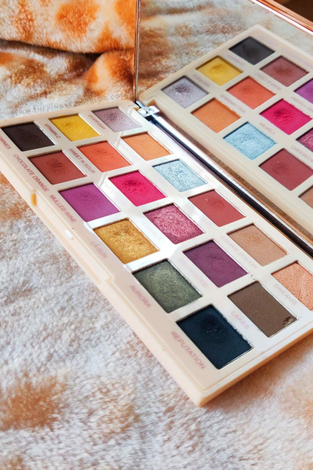 Makeup Revolution Soph X Extra Spice Eyeshadow Palette Review and Swatches