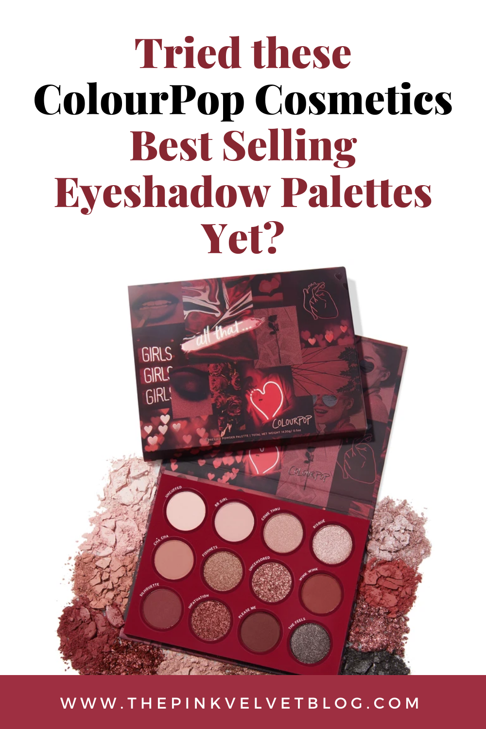 Tried these ColourPop Cosmetics Best Eyeshadow Palettes Yet?