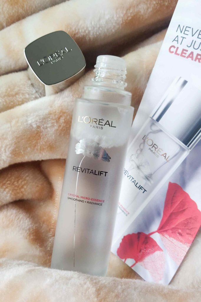 Packaging - L'Oreal Paris Crystal Micro Essence Review