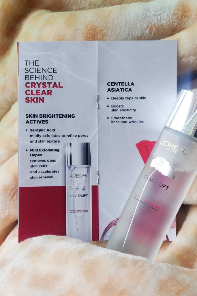 L'Oreal Paris Revitalift Crystal Micro Essence Review