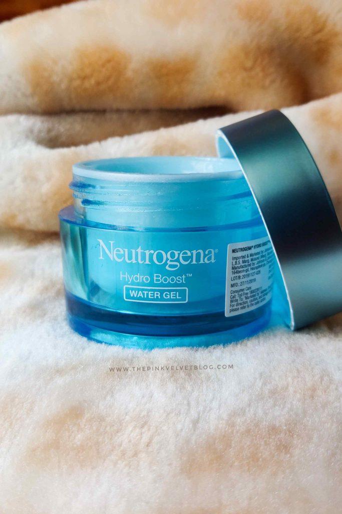 Neutrogena Hydro Boost Water Gel Review - Packaging