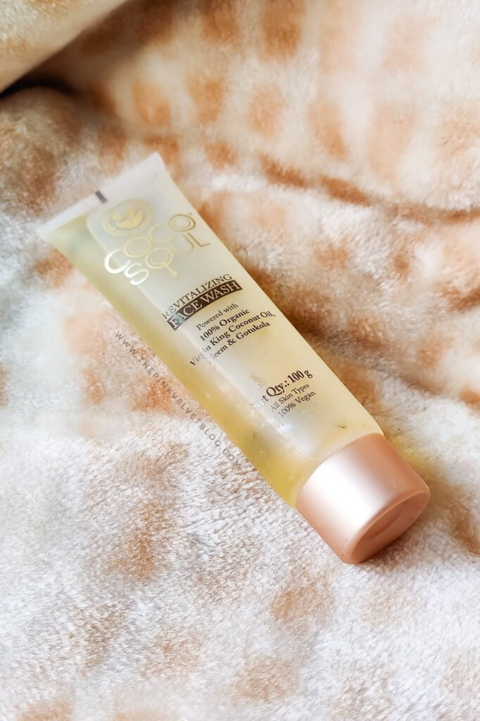 COCO SOUL Revitalizing Face Wash -Review