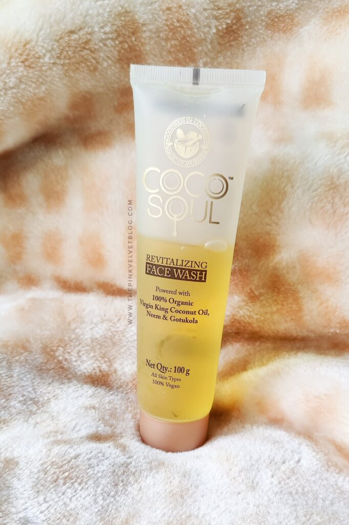 COCO SOUL Revitalizing Face Wash Review for Dry Skin
