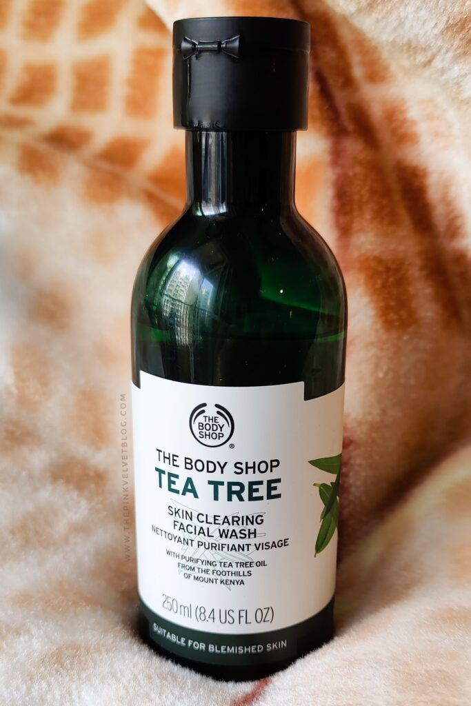 The Body Shop - Tea Tree Face Wash Review