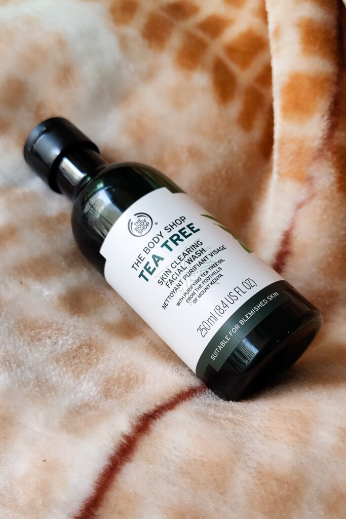 The Body Shop Tea Tree Face Wash - Face Wash for Oily Skin