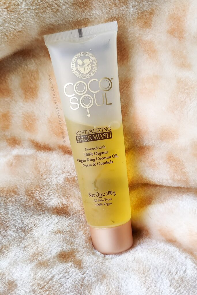 COCO SOUL Revitalizing Face Wash Review