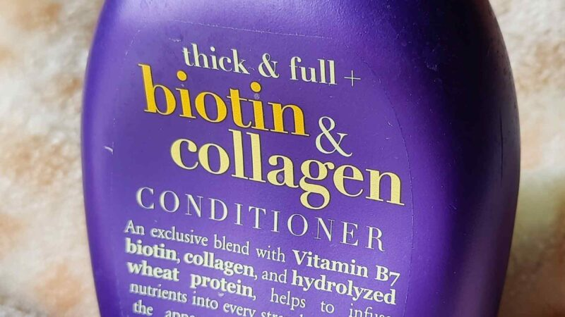 OGX Thick and Full Biotin and Collagen Conditioner Review