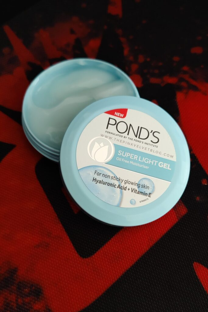 Ponds Super Light Gel Oil-Free Moisturizer Review