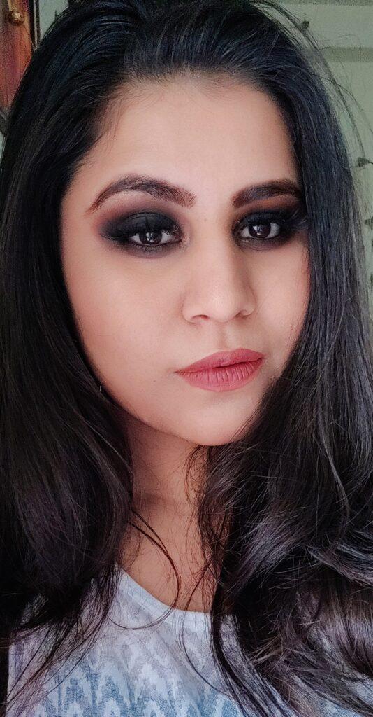 Samer Khouzami Cosmetics Smokey Eye Makeup Look