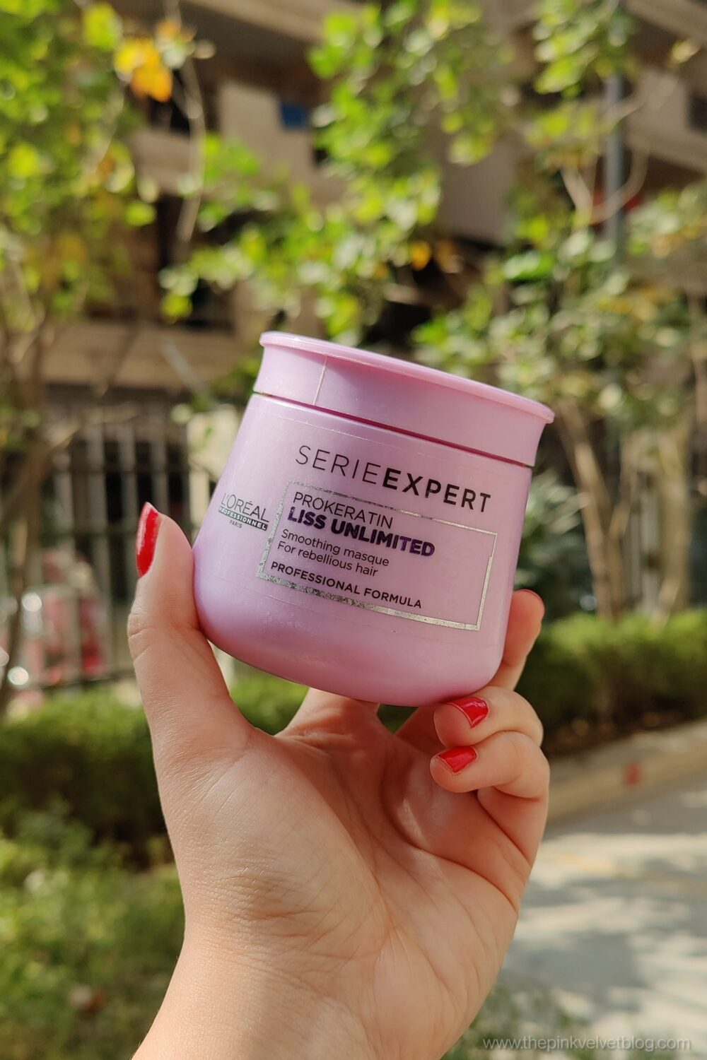 L'Oreal Professional Hair Masque Liss Unlimited Review