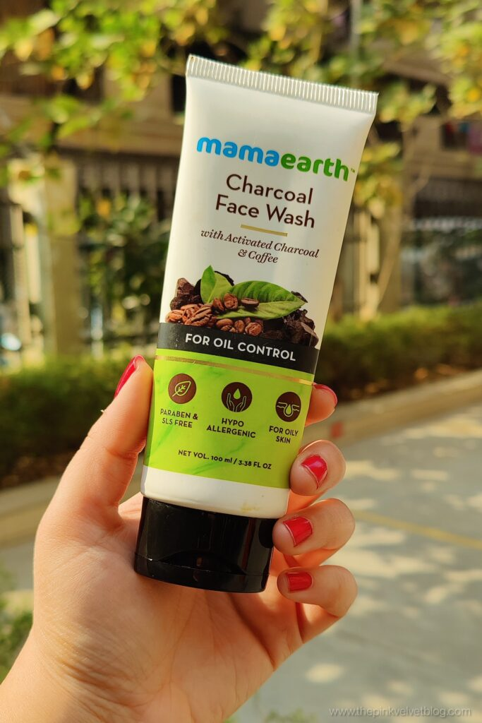 Review - Mamaearth Charcoal Face Wash Review