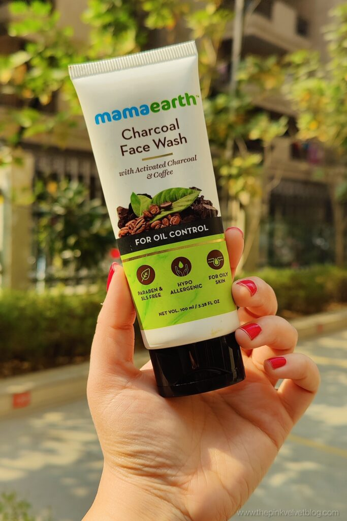 Mamaearth Charcoal Face Wash Review