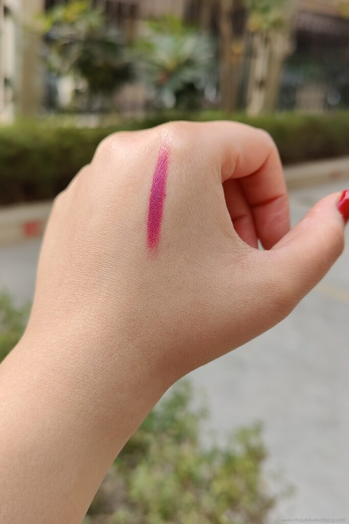 YBP Color Cream Mermaid Review Swatch Dark Pink