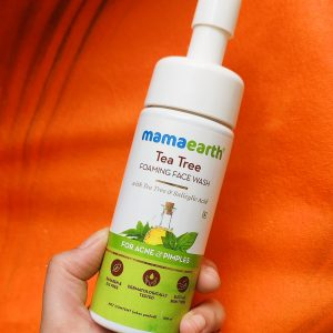Mamaearth Tea Tree Foaming Face Wash Review