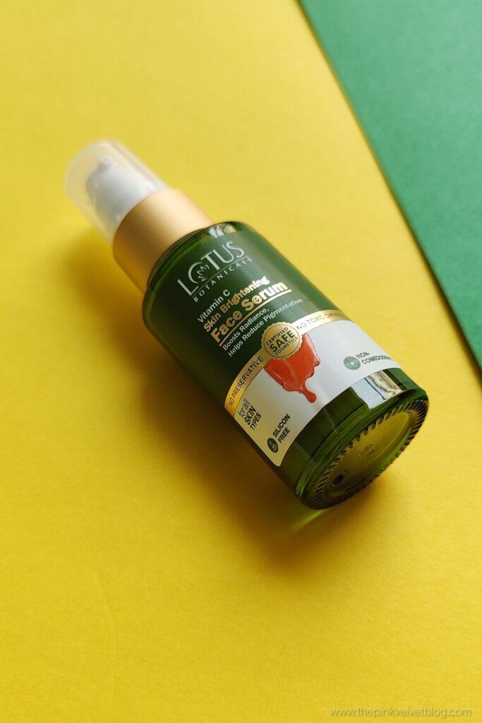 Lotus Botanicals Vitamin C Serum Review Oily Skin