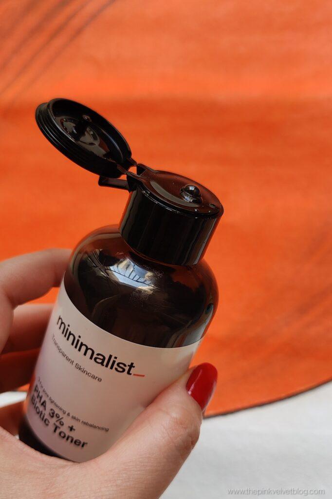 Minimalist Toner PHA 3% + Biotic Review for Dry Skin